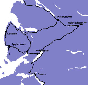 Map of Applecross